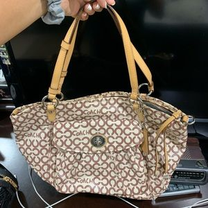 Coach cute tote handbag